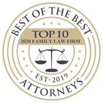 10 best | 2 years client satisfaction | american institute of family law attorneys